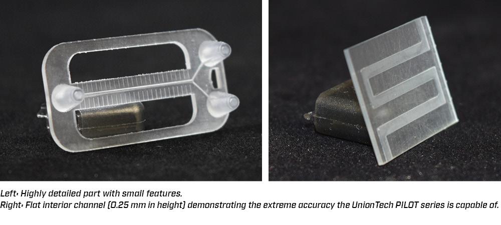 High precision parts built on UnionTech equipment
